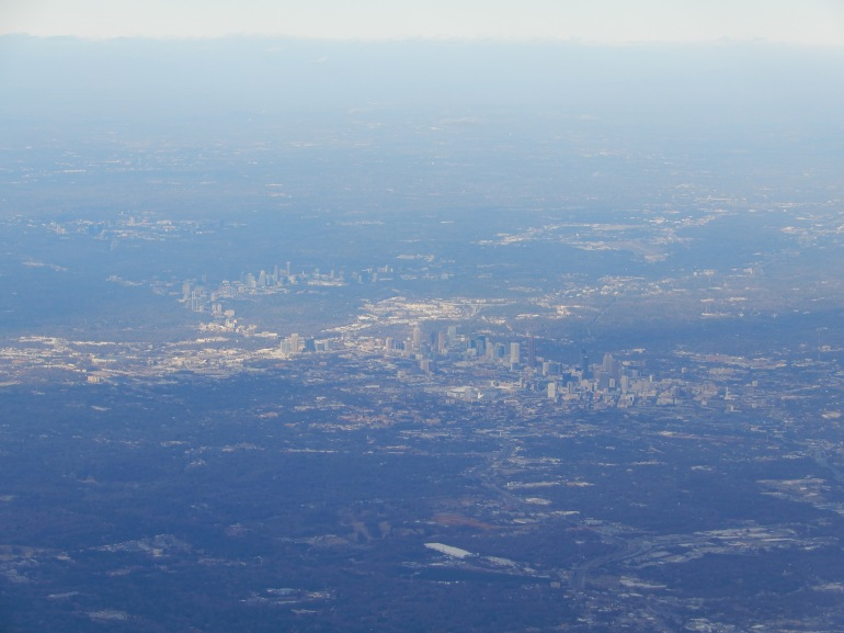 Atlanta from above